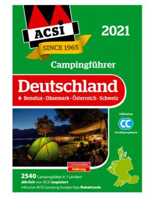 ACSI Campingführer 2021 Deutschland