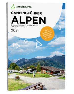 Reiseführer Camping.info Alpen 2021