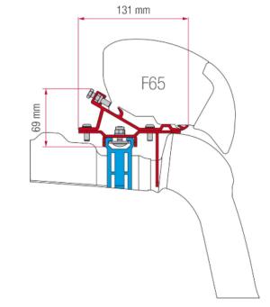 Fiamma, Kit VW Crafter ab 2017