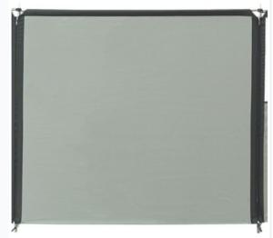 Isabella Flex Grey Windschutz Erweiterung ohne Fenster
