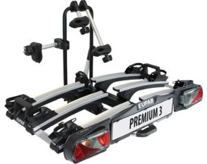 EUFAB Fahrrad-Heckträger PREMIUM III, für die Anhängerkupplung