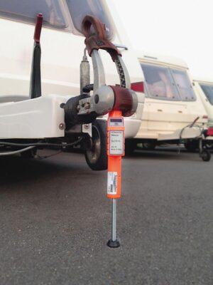 Digitale Stützlastwaage STB 150 SensoTec