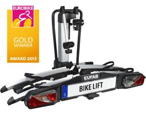 EUFAB Fahrrad-Heckträger BIKE LIFT, für die Anhängerkupplung