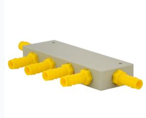 LILIE Wasserverteilerblock mit 5 Abgängen