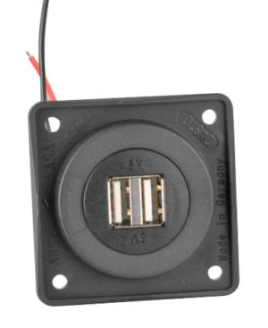 Berker, Integro Doppel-USB Ladesteckdose
