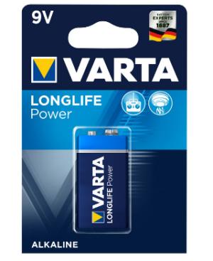 Varta Longlife Power 9V BL1