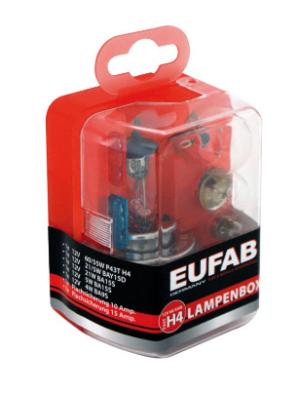 EAL Autolampen Ersatzkasten 12V / H4