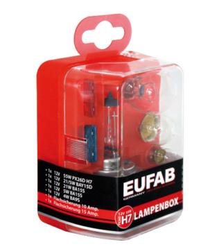 EAL Autolampen Ersatzkasten 12V / H7 M