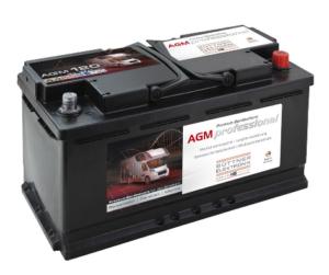 Büttner Elektronik. MT-AGM 120 Bord-Versorgungsbatterie