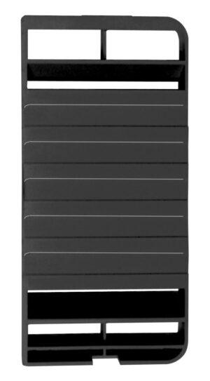 Dometic, Ersatz-Abgaseinsatz für Dometic-Lüftungsgitter-Set LS 100, schwarz