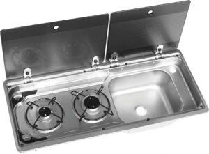 Dometic Kocher-Spülen-Kombination MO 9722 links