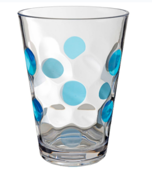 Brunner Trinkglasset Baloons blau