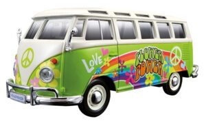 """Maisto, Fahrzeugmodell """"Hippie Line"""" VW Bus Samba"""