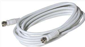 Sat-Kabel 10 m Länge, mit F-Steckern