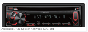 Kenwood, Autoradio / CD-Spieler Kenwood KDC-101