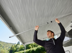 Thule Spannstange für Dachmarkisen, Auszug 2 m