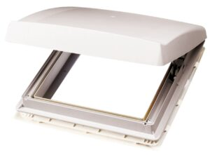 Thule Dachhaube weiss mit Ventilator, 12 Volt