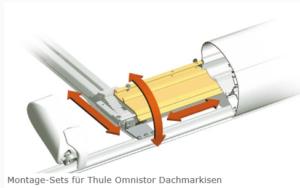 Montage-Set 1 für Thule Omnistor Dachmarkisen