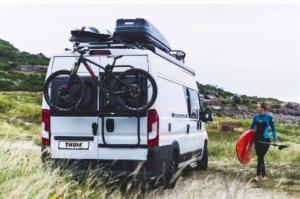 Elite Van XT, schwarz E-Bike Fahrradträger Thule
