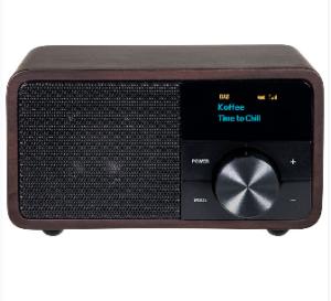 Kathrein Digitalradio DAB+ 1 mini, Holz dunkel