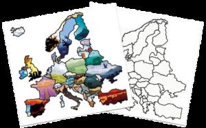 "Europasticker ""Illustration"""