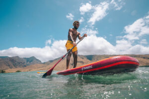 Fanatic Bamboo Carbon 80 SUP Paddle 2021
