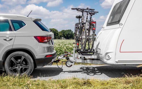 LAS Fahrradträger für die Deichsel gleitend