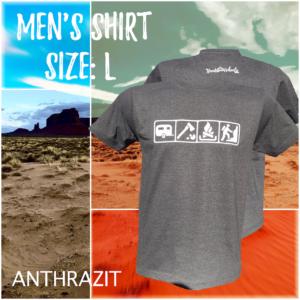 Men - Size L / Anthrazit