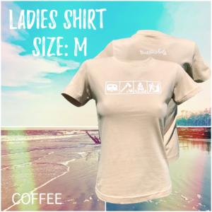 Ladies - Size M / Coffee