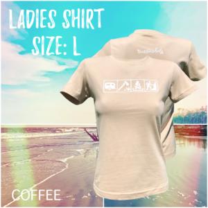 Ladies - Size L / Coffee