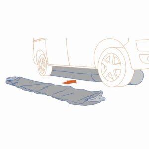 Bodenschürze GT Seal Tube 400 Gentle Tent