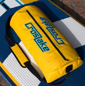 Drybag SUP waterproof 12L mit Strap gelb