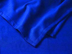 Polar-Fleece-Decke blau