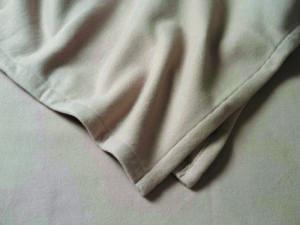 Polar-Fleece-Decke écru