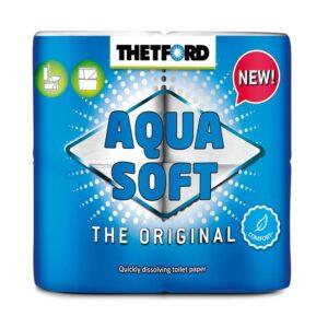 Thetford Aqua Soft Toilettenpapier 4er-Pack