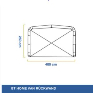 GT Home Van Rückwand, Gentle Tent