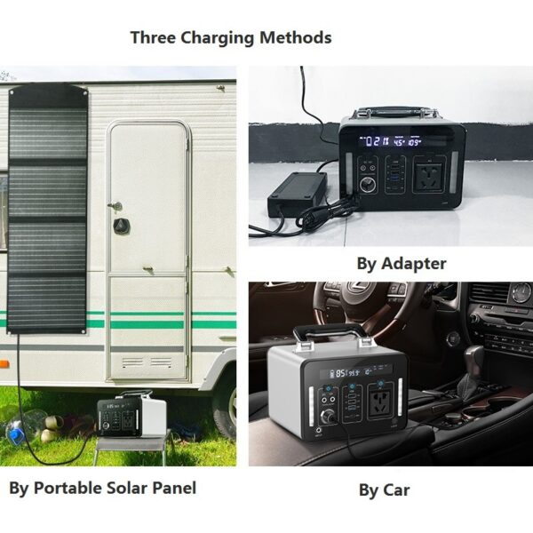 Solar Generator 1000Wh mit 100W Solarpanel