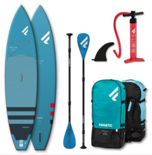 """Fanatic SUP - Ray Air - 11'6""""x31"""" - blue - Package 2021 Family Pack"""