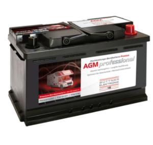Büttner Elektronik. MT-AGM 85 Bord-Versorgungsbatterie