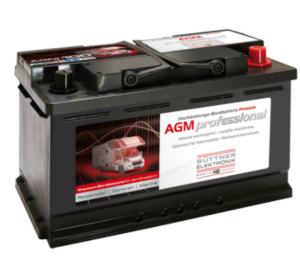 Büttner Elektronik. MT-AGM 100 Bord-Versorgungsbatterie