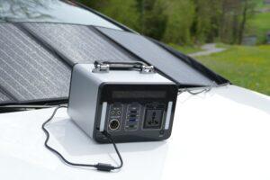 Solar Generator 500Wh mit 100W Solarpanel