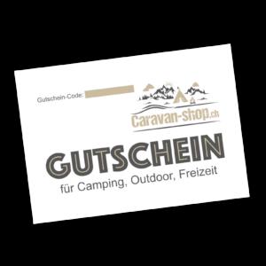 CHF 25.- Gutschein für Caravan-Shop.ch