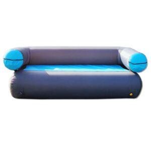 GT AIR SOFA 3, blau, aufblasbares Sofa für 3 Person