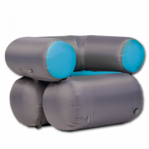 GT AIR SOFA 1, blau, aufblasbares Sofa für 1 Person